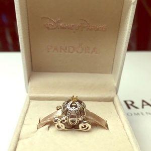 Pandora Disney Cinderella Pumpkin Carriage Charm